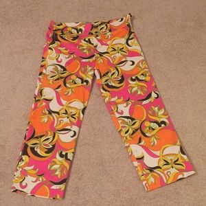 Lilly Pulitzer Palm Beach Fit Capri Pants